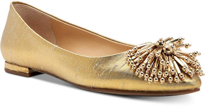 Katy Perry Rayann Shiny Woven Ballet Flats Women Shoes