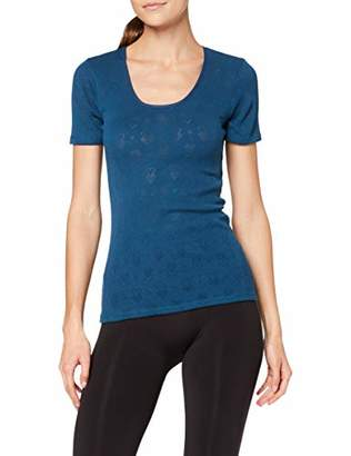 Damart Women's Tee Shirt Manches Courtes Themal Top,10 (Size: Small)