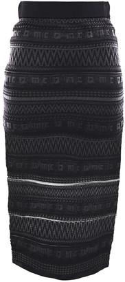 McQ Crochet-knit Pencil Skirt