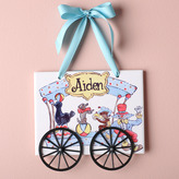 Circus Personalized Plaque