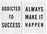 Oliver Gal Make It Happen (Canvas) (Set of 2)