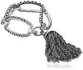 Kendra Scott Mia Antique Silver Bracelet