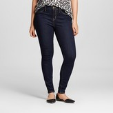 Mossimo Women's Mid-rise Jeggings (Curvy Fit) Rinse Wash