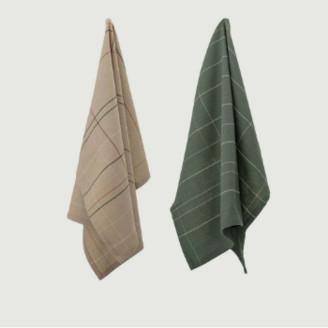 Bloomingville Cotton Multicolor Kitchen Towels - cotton | Multicolor | U