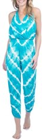 Green Dragon Women's Tie Dye Cover-Up Jumpsuit