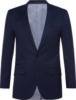 Oxford Hopkins Peak Lpl Wool Jacket Blu X
