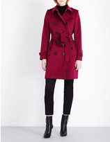 Burberry Kensington wool and cashmere trench coat