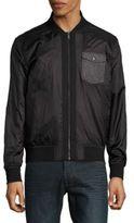 Calvin Klein Jeans Solid Surplus Zip-Up Jacket