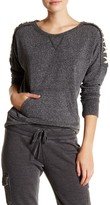 Steve Madden Lace-Up Pullover