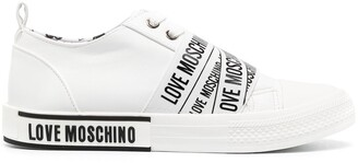 Love Moschino Logo Low-Top Sneakers