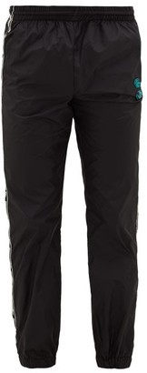 Off-White Side-stripe Technical Shell Track Pants - Mens - Black