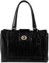 Cole Haan Lafayette Croc-Embossed Leather Tote Bag
