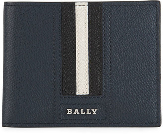 Bally Men's Trainspotting Leather Bifold Wallet