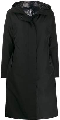Save The Duck hooded long padded coat