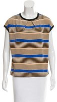 Sea Striped Short Sleeve Top w/ Tags