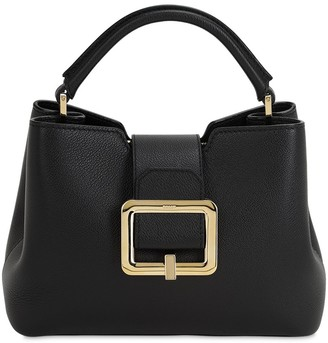 Bally JORAH GRAINED LEATHER TOP HANDLE BAG