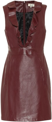 Baum und Pferdgarten Exclusive to Mytheresa Abee faux-leather minidress