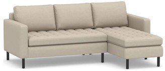 Pottery Barn SoMa Savannah Upholstered 2-Piece Chaise Sectional