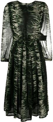 Samantha Sung Florance tiger print dress