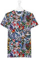 DSQUARED2 printed T-shirt - kids - Cotton - 16 yrs