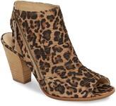 Paul Green 'Cayanne' Leather Peep Toe Sandal