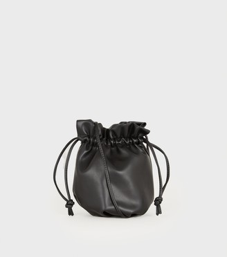 New Look Leather-Look Mini Pouch Bag