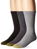 Gold Toe Men's Cotton Crew Athletic Sock 6-Pack
