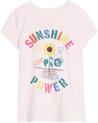 Peek Aren't You Curious Sunshine Power Graphic Tee
