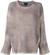 Avant Toi loose fit top - women - Silk/Cashmere/Merino - XS