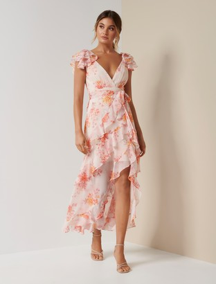 Ever New Ellery Ruffle Maxi Dress