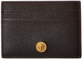 Versace Medusa Head Leather Card Holder