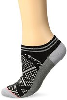Stance Women's Bit Map Graphic Arch Support Invisible Boot Sock