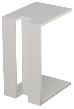 Sheridan Wrought Studio Modern End Table Wrought Studio Color: White