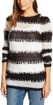 Cheap Monday Women's Broken Stripe Last Knit Sweater