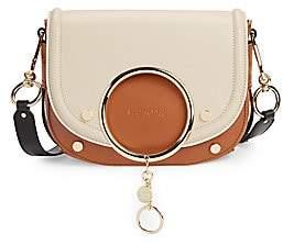 See by Chloe Women's Mara Two-Tone Leather Crossbody Bag