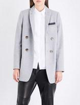 Brunello Cucinelli Double-breasted cashmere blazer