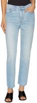 Tory Burch High-Waist Crop Jean
