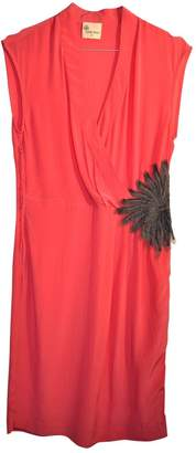 Stella Forest Pink Silk Dress for Women