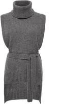 Rosetta Getty Turtleneck Poncho Sweater