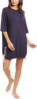 Eberjey Mason Lace-Up Shift Dress