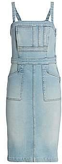 Mother Women's Pocket Hustler Denim Sheath Dress