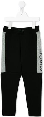 Boss Kidswear Paneled Colour Block Jogging Trousers