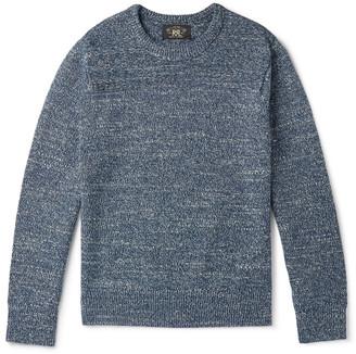 Ralph Lauren RRL Slim-Fit Melange Cotton Sweater