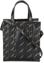 Balenciaga Bazar Small logo bag - women - Leather - One Size