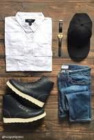 Forever 21 Slim-Fit Cotton Pocket Shirt