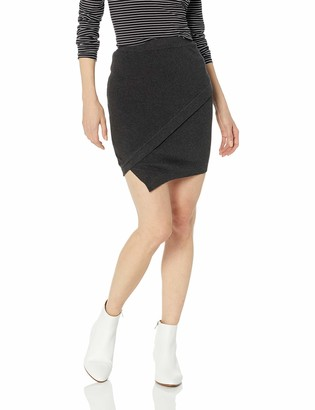 BCBGeneration Women's Mini WRAP Skirt