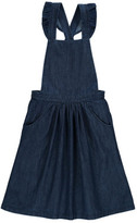 Emile et Ida Chambray Dungaree Dress