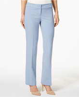 Nine West Straight-Leg Trouser Pants