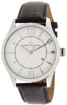 Tommy Hilfiger Men's 1710207 Classic Silver-Tone Watch