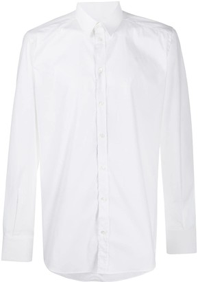 Dolce & Gabbana Back Pleat Buttoned Shirt